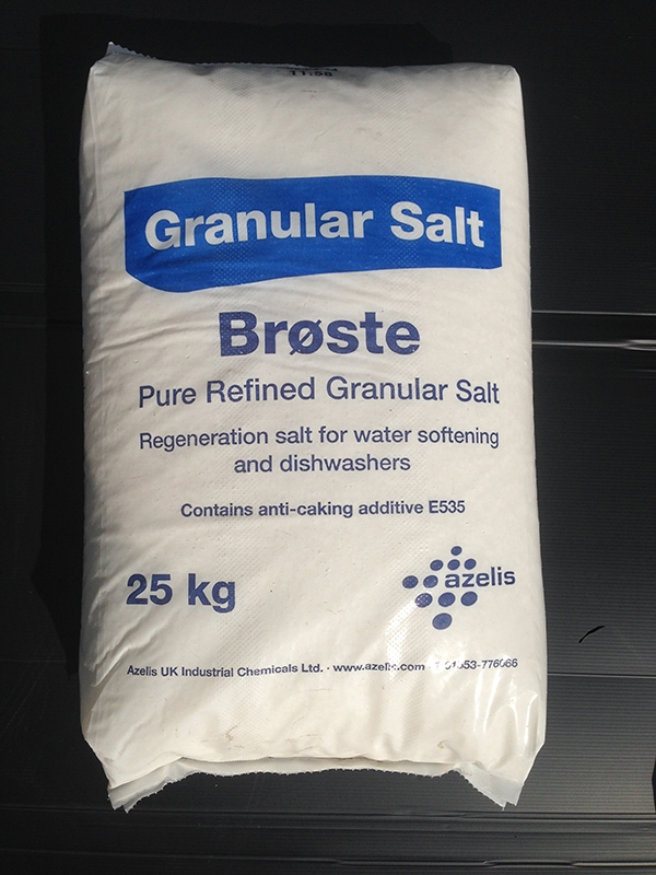 Water softener salt delivery